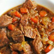 Casserole/stew