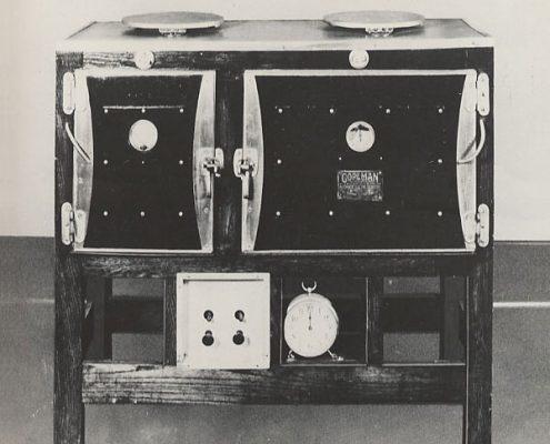 Copeman Electric Stove, 1912