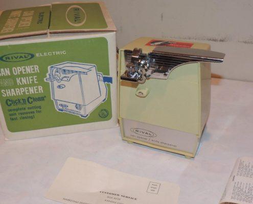 Electric Can Opener & Knife Sharpener
